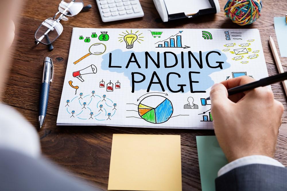landing page batiment