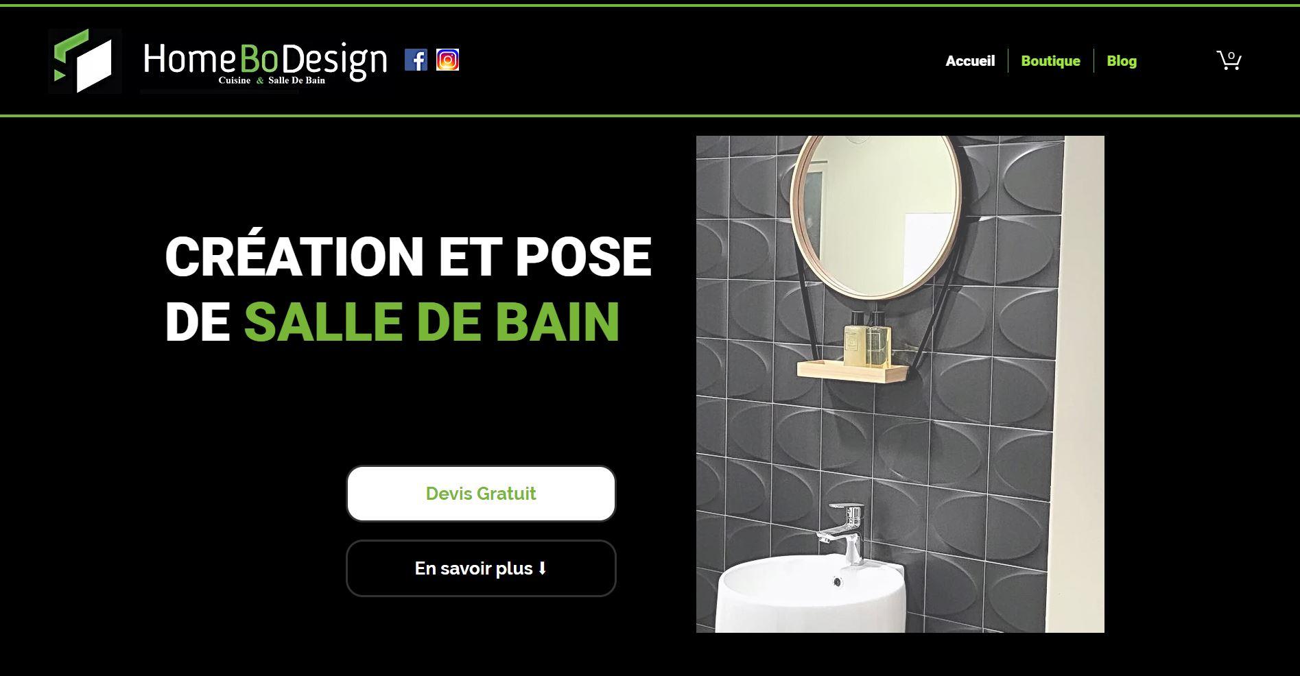 Site web rénovation salle de bain